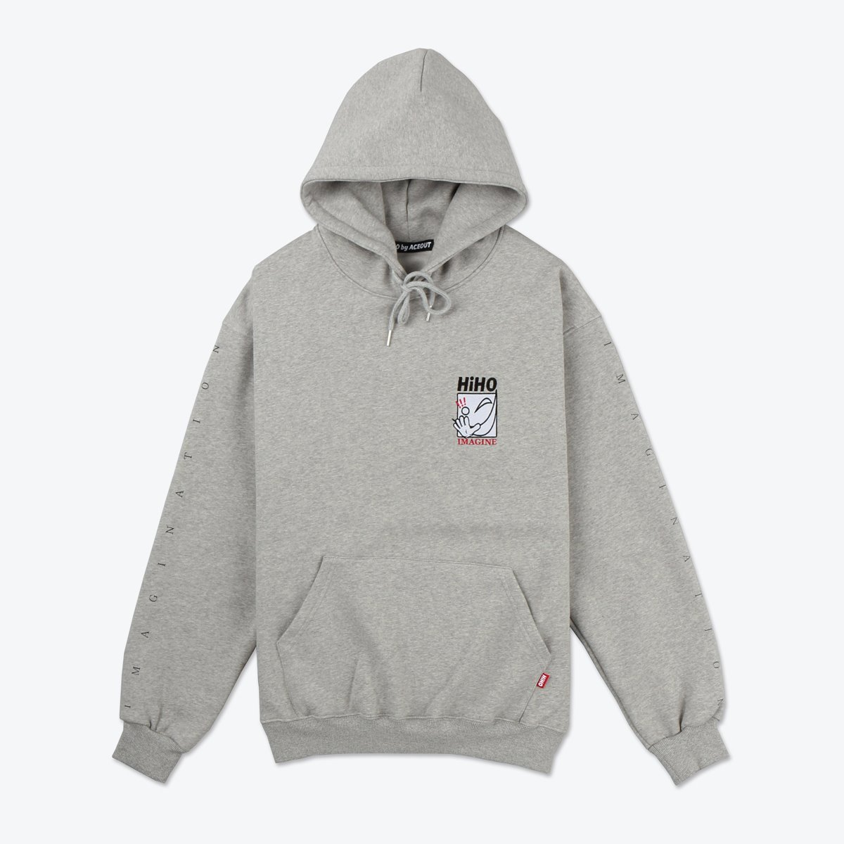 IMAGINE Heavyweight Pullover_gray[기모]