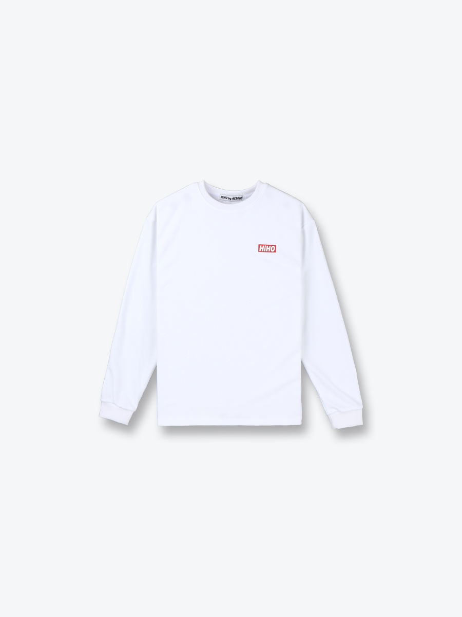 HiHO LONG SLEEVE_white