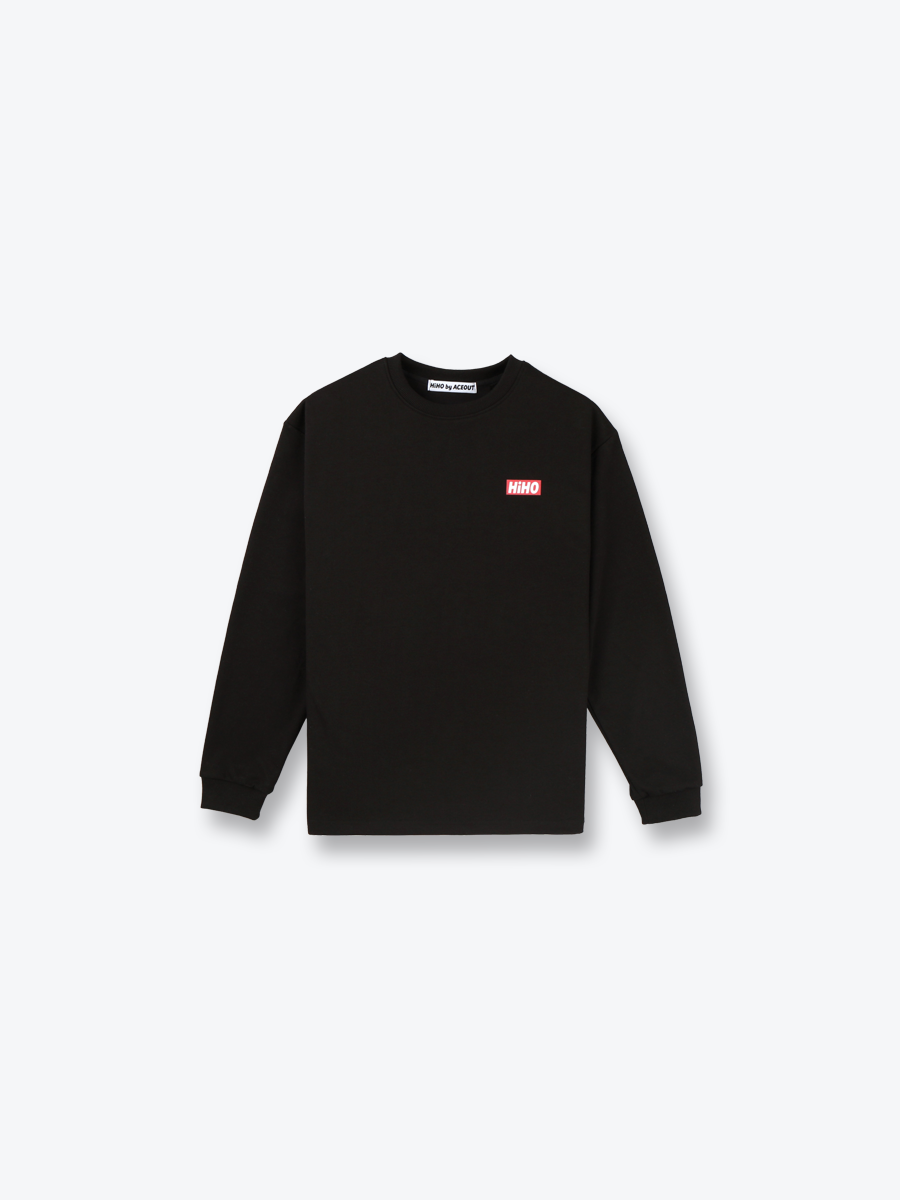 HiHO LONG SLEEVE_black