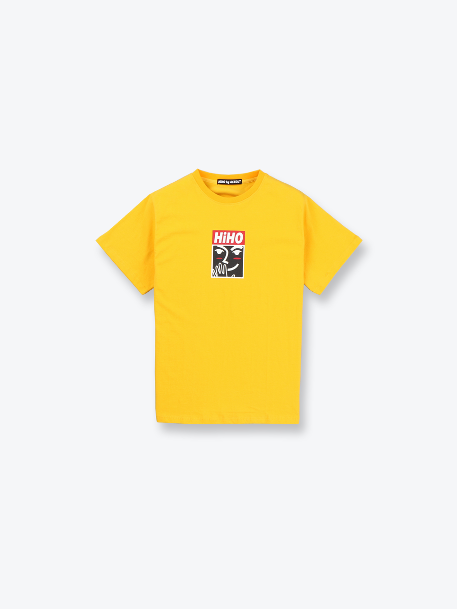 SIGNATURE TEE_yellow