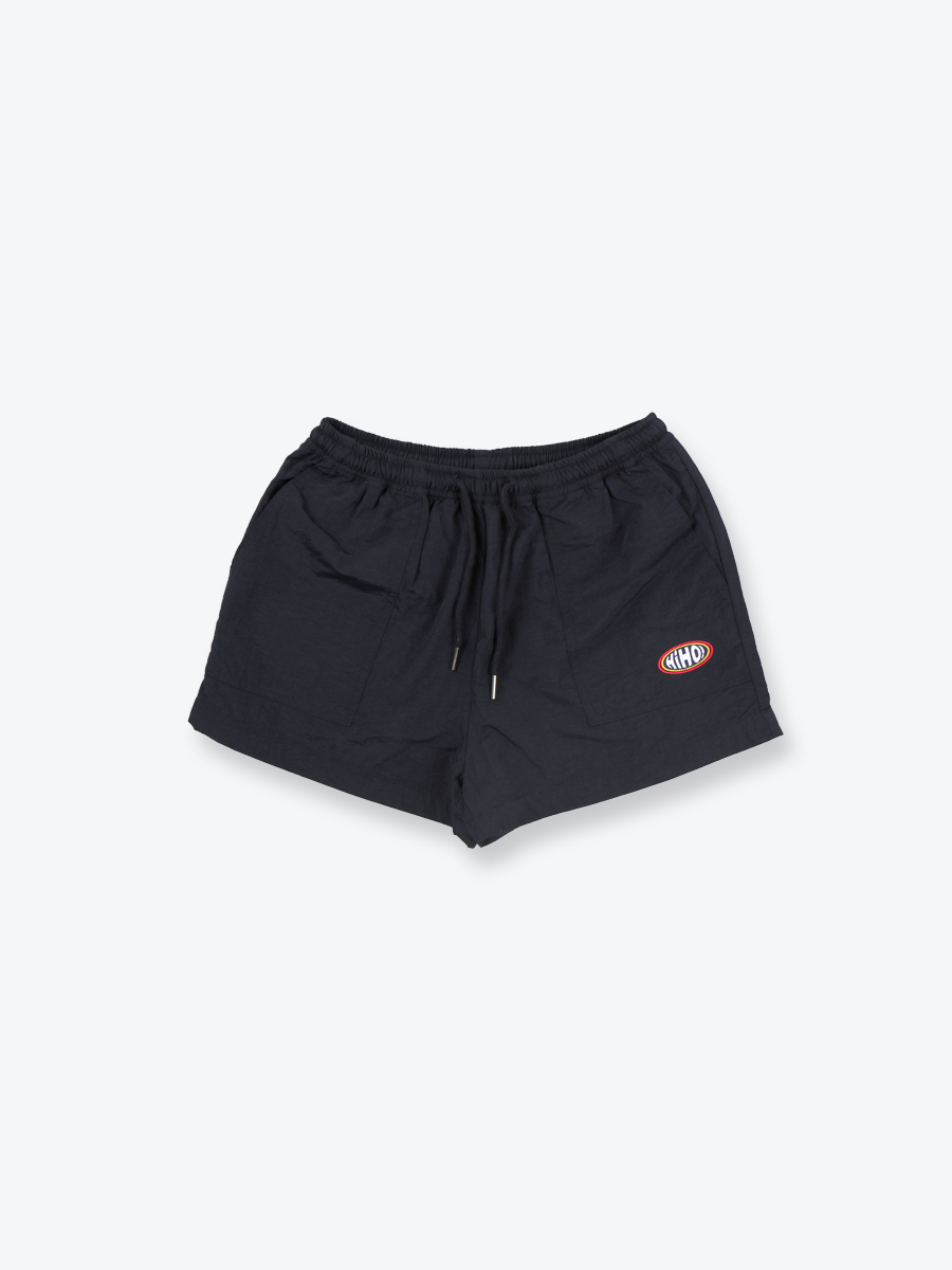 NYLON TRACK SHORTS_navy