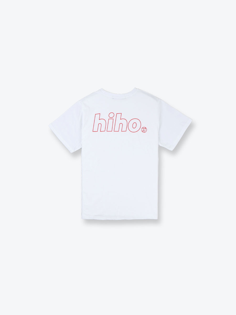 HiHO DOT TEE_white
