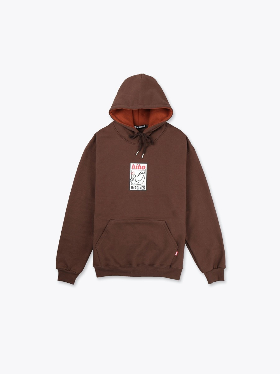HIHO Heavyweight Pullover_brown[기모]