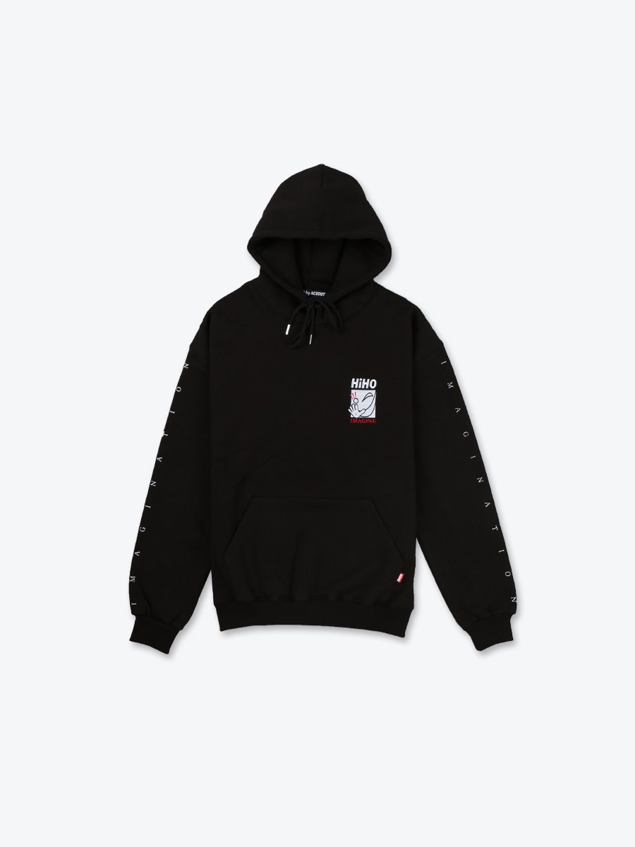 IMAGINE Heavyweight Pullover_black[기모]