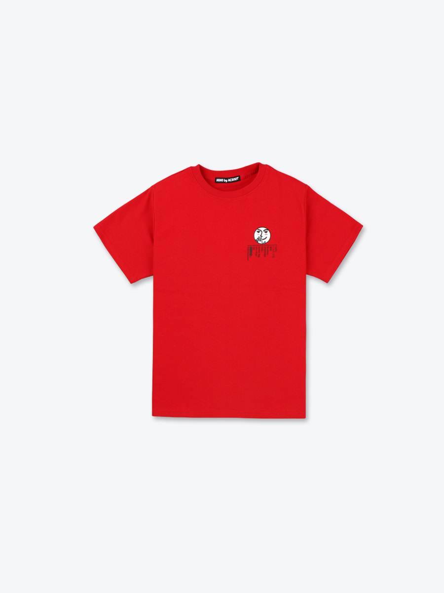 INTL . HIHO TEE - RED