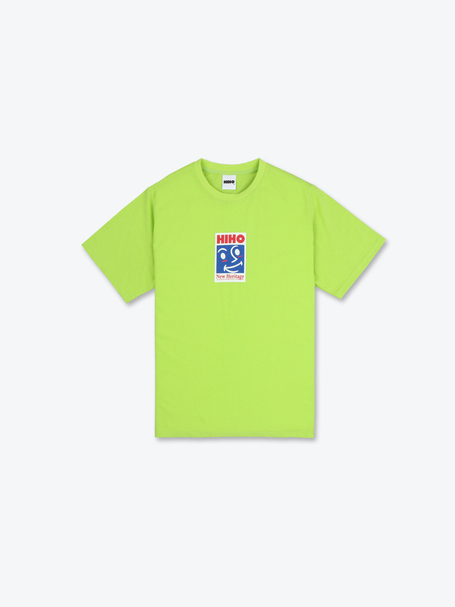 NEW SIGNATURE TEE - LIME